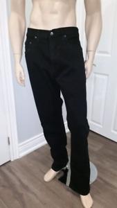 NWT - Men's Urban Star Black Denim Jeans Size W36 x L33