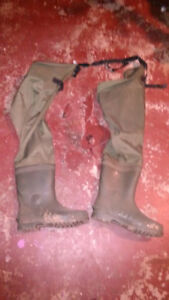 Hip waders for sale. No leaks.
