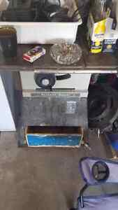 Table saw Rockwell neg