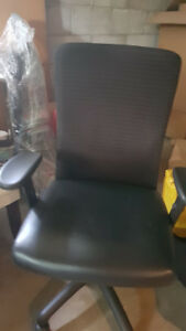 Barely Used Office/Desk Chair Leather