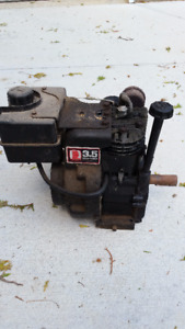 "Rare Tecumseh 3.5 HP Small block Engine - 1"" shaft"