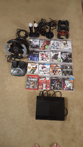 Playstation PS3, jeux et accessoires / w games and accessories