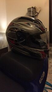Size small motorcycle helmet DOT approved