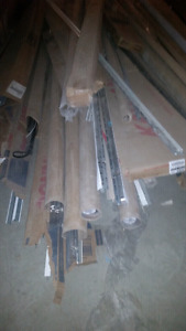 Lot of cieling tile dividers, bead for drywalling