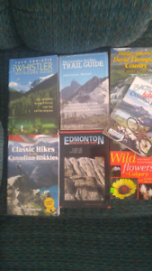 7 Alberta Outdoors and Trail Guide Books