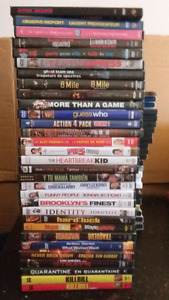 82 dvds, 3 blue rays and 15 seasons