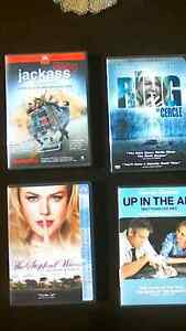DVDs: THE STEPFORD WIVES, UP IN THE AIR, THE RING, etc.