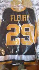 Autographed Marc-Andre Fleury Jersey