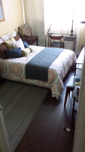 Furnished room available share condo