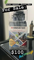 Monster Digital Waterproof HD+ Sports & Helmet Camera
