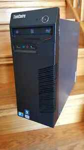 Lenovo M70e dual core tower with Windows 7 (refurbished)