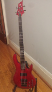 ESP LTD 4 String Bass Guitar - B-154 DX