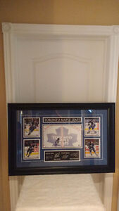 unique treasures house, NHL x 4 autographed hockey picture