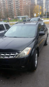 Selling Black 2004 Nissan Murano -AS IS- $1200