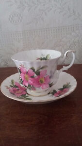 AUGUST LONG WEEKEND SALE!! Royal Albert Prairie Rose China