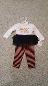 Brand new never worn girls Halloween outfit size 9 month's