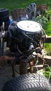 Motor and trans out of a 1988 ford ranger