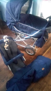 Emmaljunga stroller from Sweden
