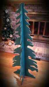 Christmas Tree - Green  (Large Version) Wooden/Foldable