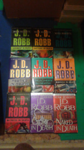 J.D.ROBB IN DEATH BOOKS