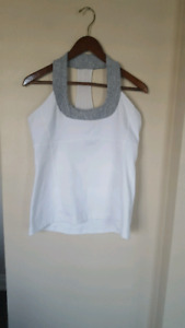 Lululemon scoop workout tank top size 12