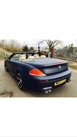 BMW 635D SPORT F1 CONVERTIBLE. ONLY ONE IN COUNTRY 535D M3, PX X6 GTD
