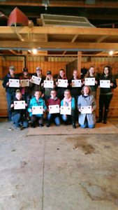 Equine First Aid Course in Puslinch Sat July 14.