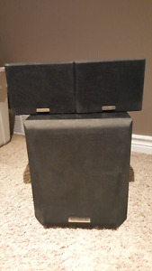 Kenwood Speakers and Powered Subwoofer