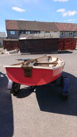 10ft boat + trailer