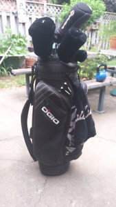 Ogio bag, Goliath hybrids and taylormade burner driver $100