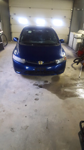 2006 honda civic si  6speed fresh safety clean title