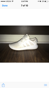 Adidas Tubular All White Runner