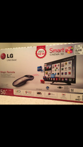 LG smart tv 50 inches