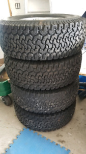 Hummer H2 Rims with tires
