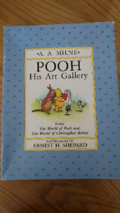 Winnie the Pooh watercolour Print Collection