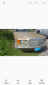 1981 300sd Mercedes for sale