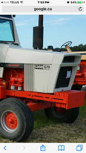 Case tractor front weights