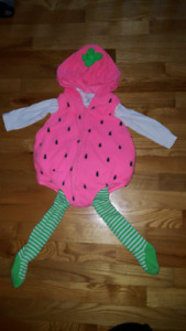 Carter's Strawberry Costume (12 mts)