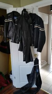 Mens and Womens matching Leather Jackets and Leather Chaps