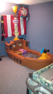 Pirate Bed for Toddlers