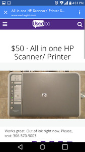 Hp all in one Scanner/ Printer