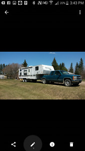 5th wheel in excellent condition - bunk beds