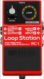 Loop pedal Boss RC 1