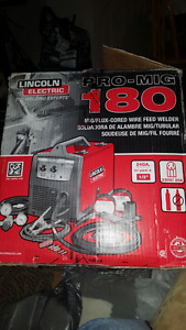 never used! (Lincoln pro mig 180)mig welder