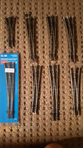 HO scale train  track and switches for sale