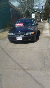 NEED GONE TODAY!! 2002 BMW 330 XI ALL WHEEL DRIVE. 5 speed