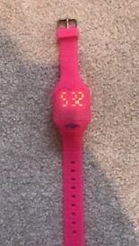Pink smiggle watch