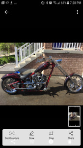 2008 custom built chopper