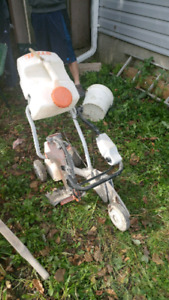 Stihl cement cutter cart