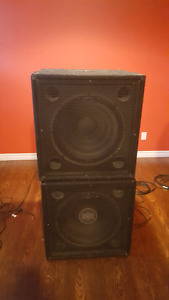 Crate P118S subs